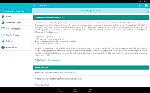 IBPS Interview Banking QA Lite|玩教育App免費|玩APPs