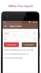 Indian Railway PNR Status & IRCTC Train EnquiryApk Download For Android 5