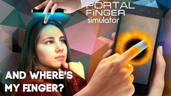 Portal finger simulator - náhled