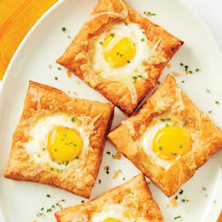 Breakfast Puffed Egg Tarts.