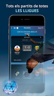 Federació Catalana Futbol FCF - náhled