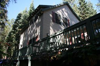 Photo: The cabin was Dulce's idea. She found a perfect setting.