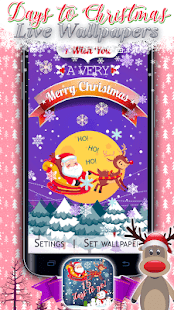 ? Days to Christmas – Live Wallpapers ? - náhled