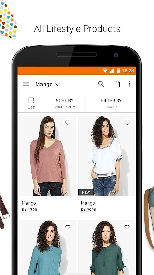 Screenshots of Jabong-Online Fashion Shopping for iPhone