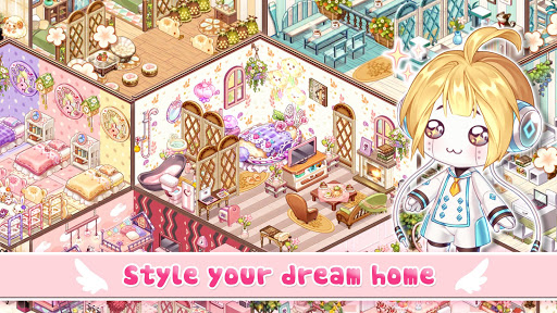 Kawaii Home Design - Decor & Fashion Game apkmartins screenshots 1
