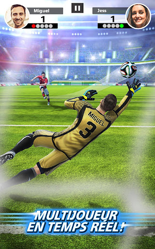 Football Strike - Multiplayer Soccer  captures d'écran 1