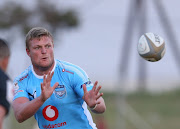 Jano Venter of Blue Bulls during the Currie Cup, Warm Up match between Boland Kavaliers and Vodacom Blue Bulls at Esselen Park Stadium on August 04, 2018 in Worcester, South Africa.