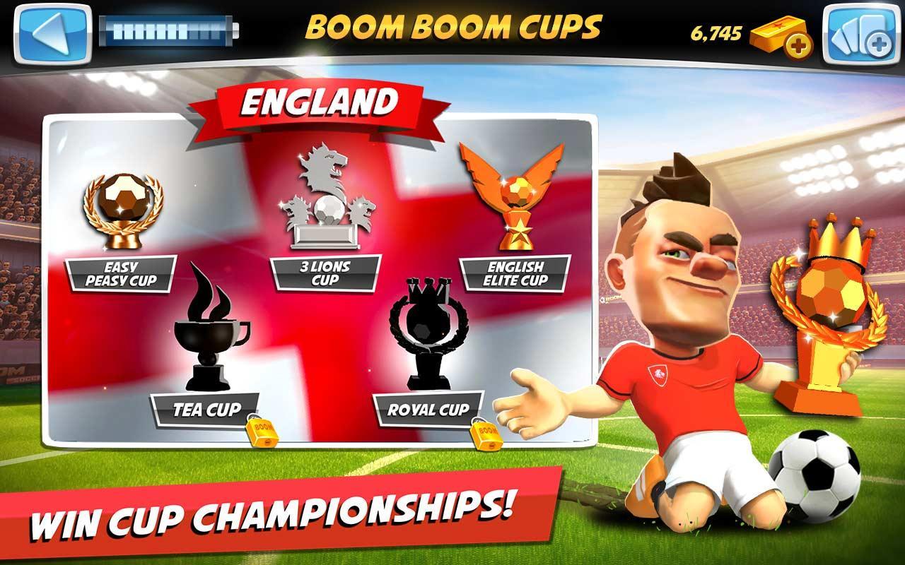 Boom Boom Soccer Triche
