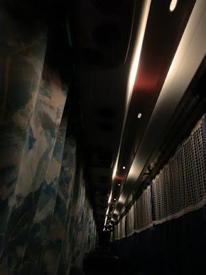 ドリーム盛岡1号 個席カーテン&室内灯(国際興業バス)