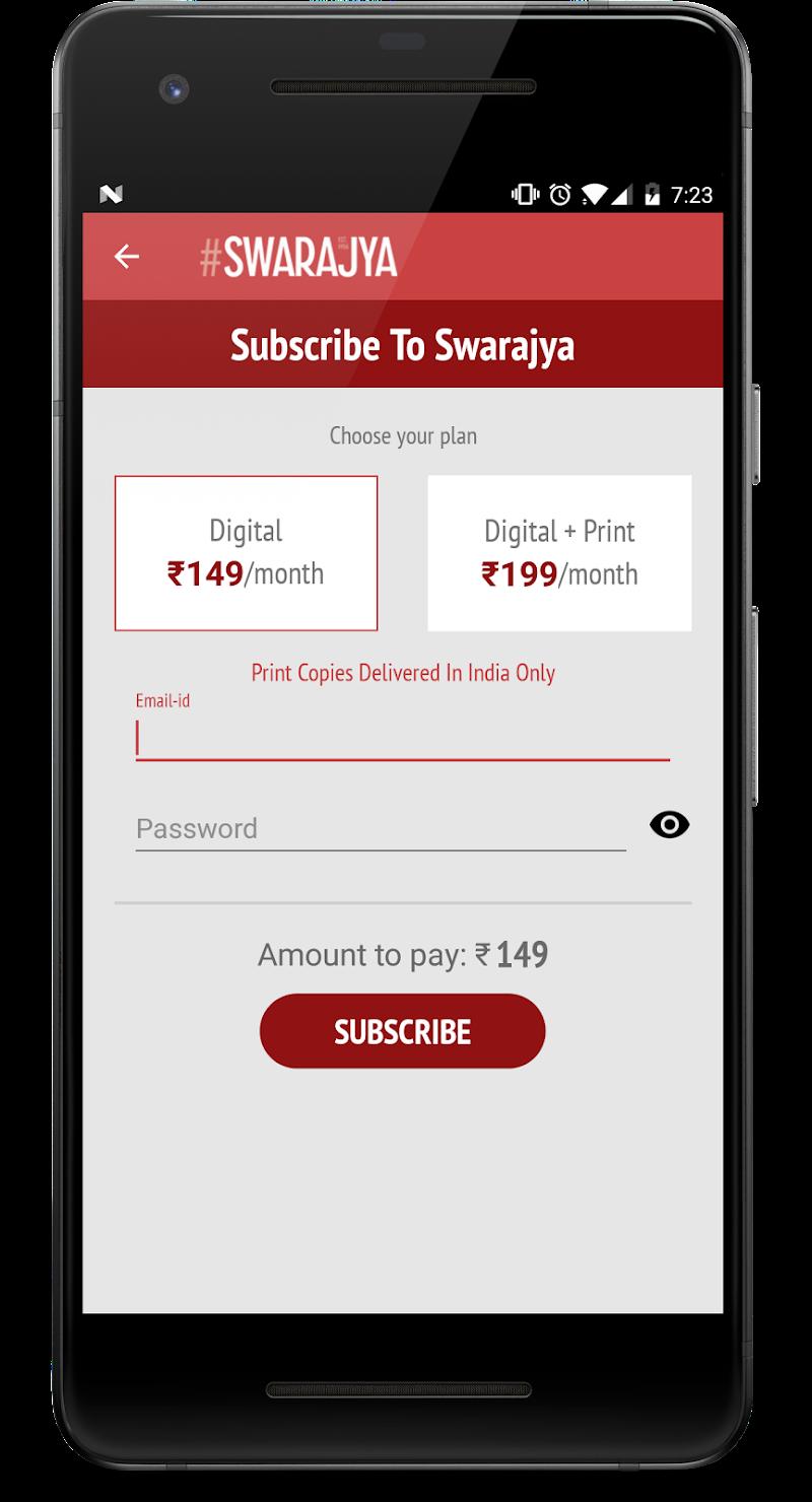 Swarajya Screenshot 6