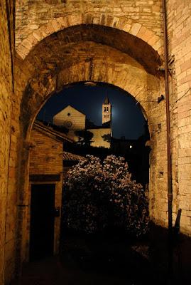 Prospettive al chiaro di luna-Assisi di Mikmata