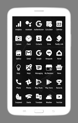 Whicons - White Icon Pack 20.6.9 screenshots 7