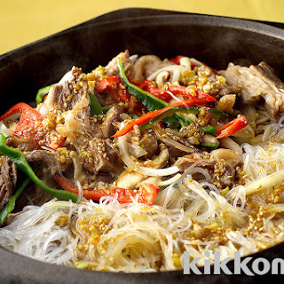 Korean Barbecued Beef with Glass Noodles | Kikkoman Corporation.