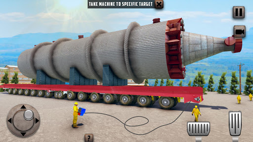 Oversized Load Cargo Truck Simulator 2019 apkpoly screenshots 12