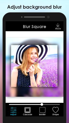 Blur Photo Square : Image Blur editor 1.6 screenshots 1