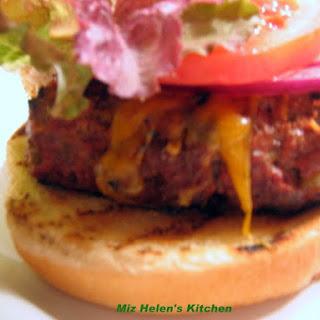 Green Chili Burger.