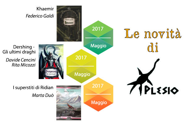 Le novità di Plesio Editore