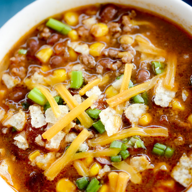 Weight Watchers Slow Cooker Taco Soup Recipe