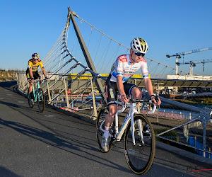 Na één oefencross wereldbekermanche in Tabor meteen prijs voor Van Aert?