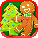Christmas Unicorn Cookies & Gingerbread Maker Game icon