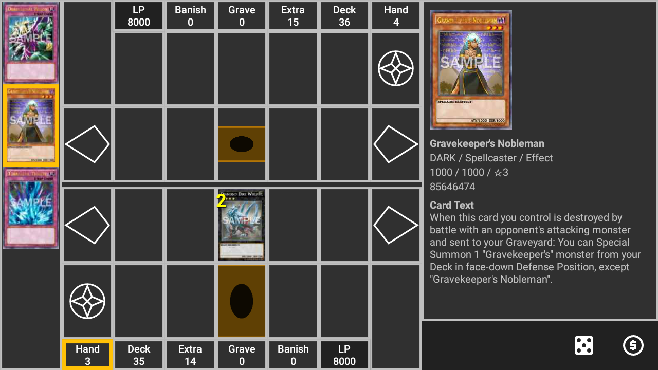 Google chrome themes yugioh - Ygodeck Manager For Yugioh Screenshot