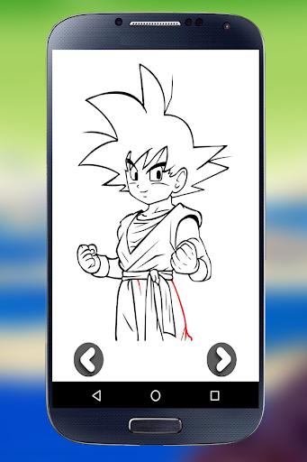 Learn to Draw Goku - DBZ 1.0 screenshots 4