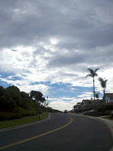 Photo: The sky was a curious mix of ominous and serene when I went out for my morning walk today.