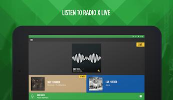Screenshot of Radio X