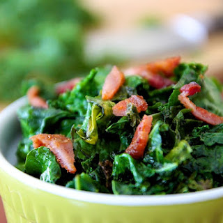 Wilted Organic Kale & Bacon