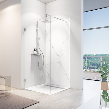 Panneaux muraux DecoDesign BRIO, marbre de carrare brillant