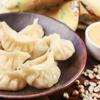 Vegetarian Momo Recipe (Steamed Dumplings - A Street Food from the North East India)