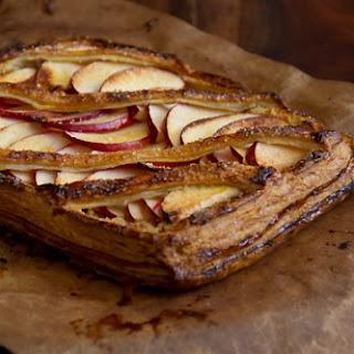 Apple Almond Cardamom Tart