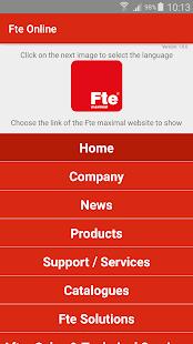 Fte Online - náhled