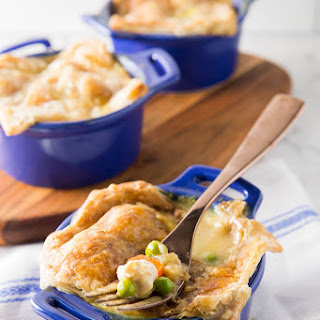 Easy Chicken Curry Pot Pie