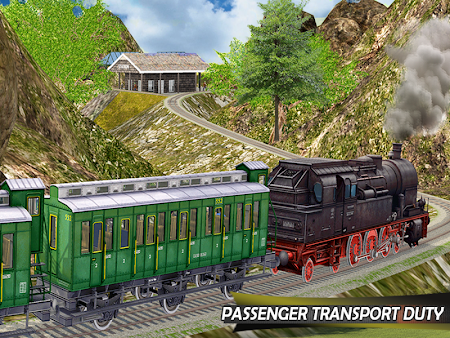 Tourist Train Hill Driving 1.1 screenshot 1660476