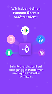 Anchor – Versuch dich als Podcaster Capture d'écran