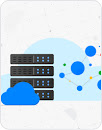 Stack of virtual servers in the cloud