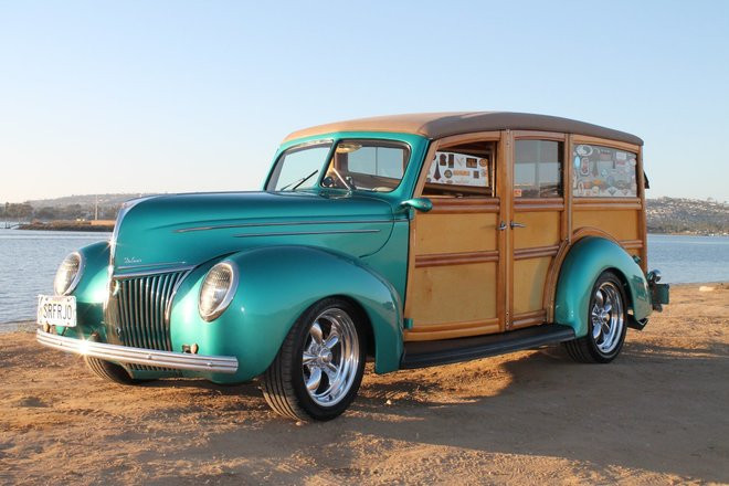 1939 Ford Deluxe Woodie Hire San Diego
