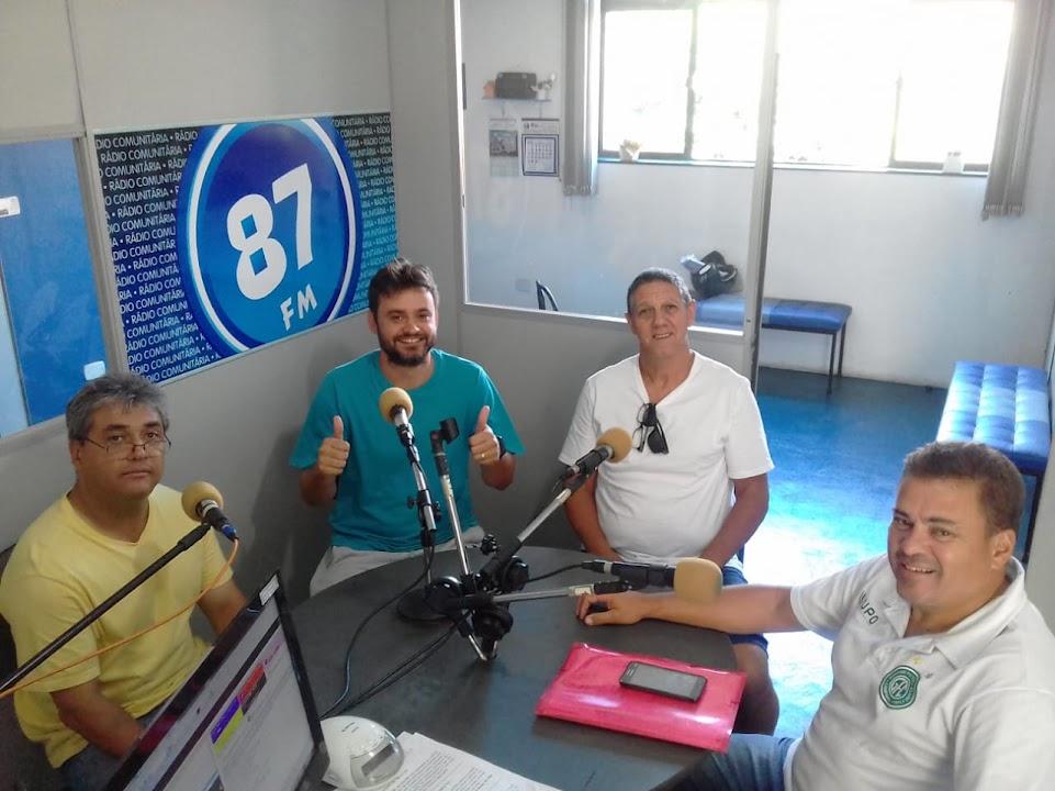 Donacio Silva, Rafael Pallos (Poyn), Celso Perocco e Sergio Borges