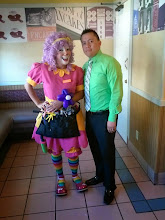 Photo: Bibi the Clown loves twisting balloons into characters in Riverside, Ca Call to book Bibi today: 888-750-7024