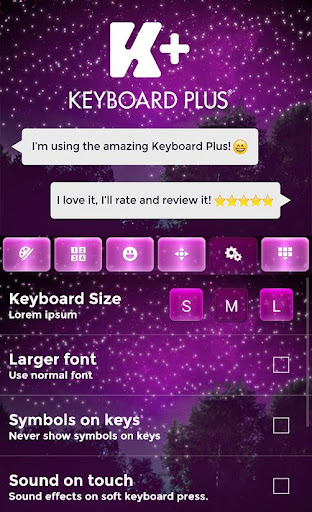 Starry Night Keyboard