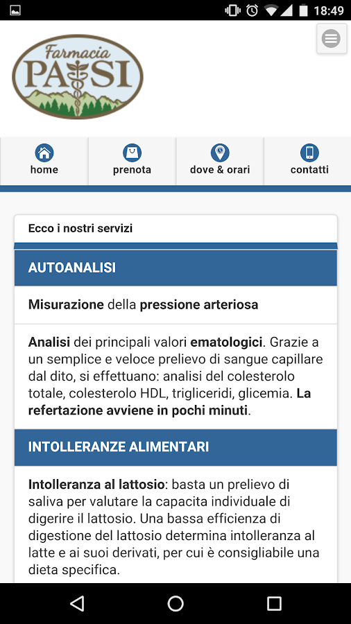 Farmacia Pasi- screenshot