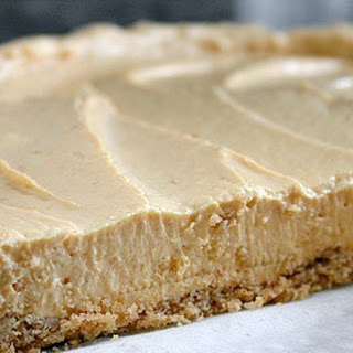 Skinny No-Bake Pumpkin Cheesecake