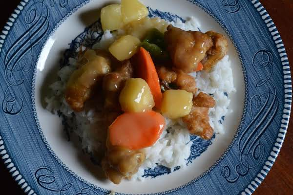 Sweet & Sour Pork/chicken Recipe