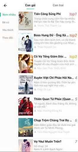 Truyu1ec7n Chanh - u0110u1ecdc Truyu1ec7n Full Online Miu1ec5n phu00ed 2.2.5 3