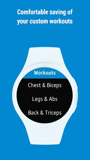 GymRun Workout Log & Fitness Tracker screenshots 9