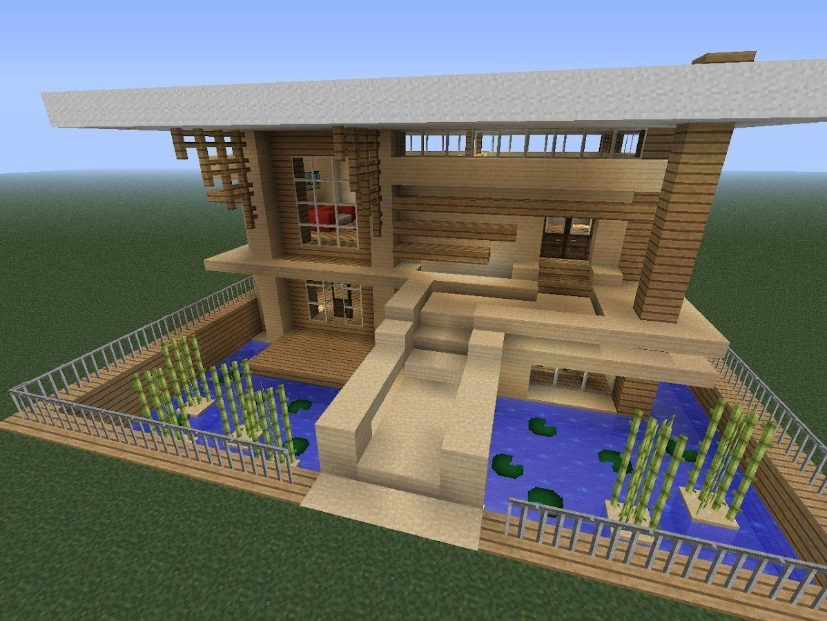 Modern minecraft houses android apps on google play for Minecraft modern house 7x7