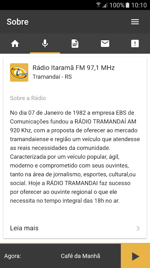 Radio Itarama- screenshot