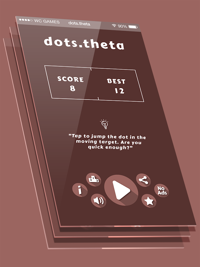 dots θ | Rotating Target- screenshot
