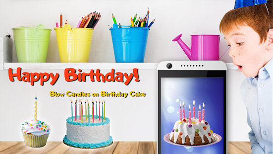 Blow Svíčky na narozeninový dort - náhled